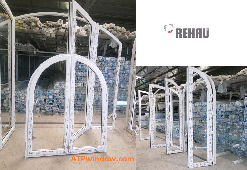 cửa nhựa rehau